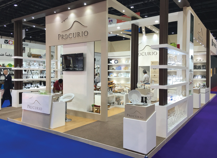 Procurio participated in the Hotel Show